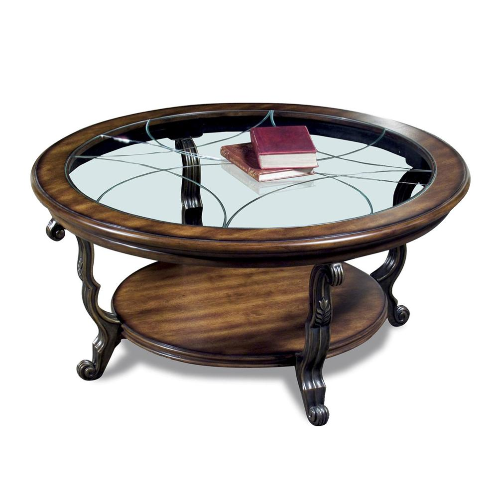 Riverside Furniture Ambrosia Round Cocktail Table - Item Number: 82005