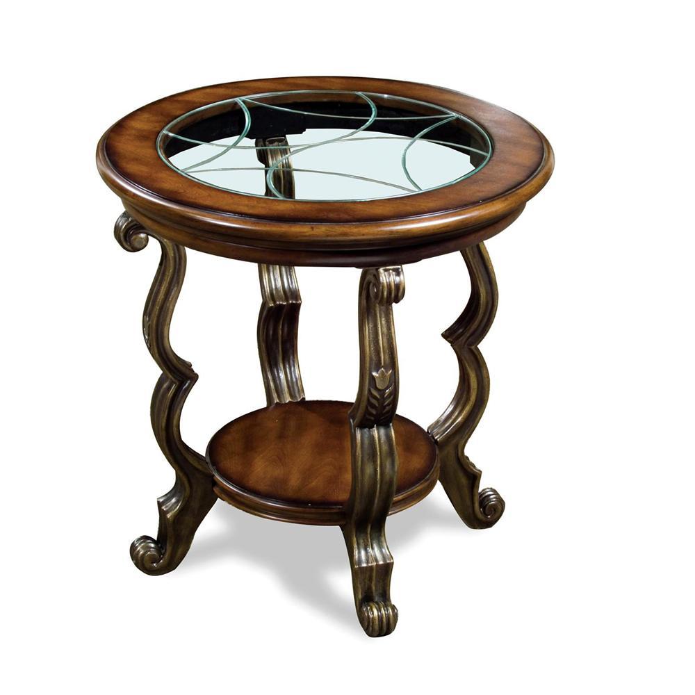 Riverside Furniture Ambrosia Round SideTable - Item Number: 82009