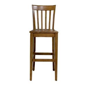 Riverside Furniture Harmony Slat Back Bar Stool