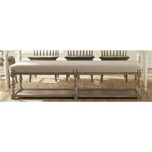 Riverside Furniture 4447 Upholstered Bench