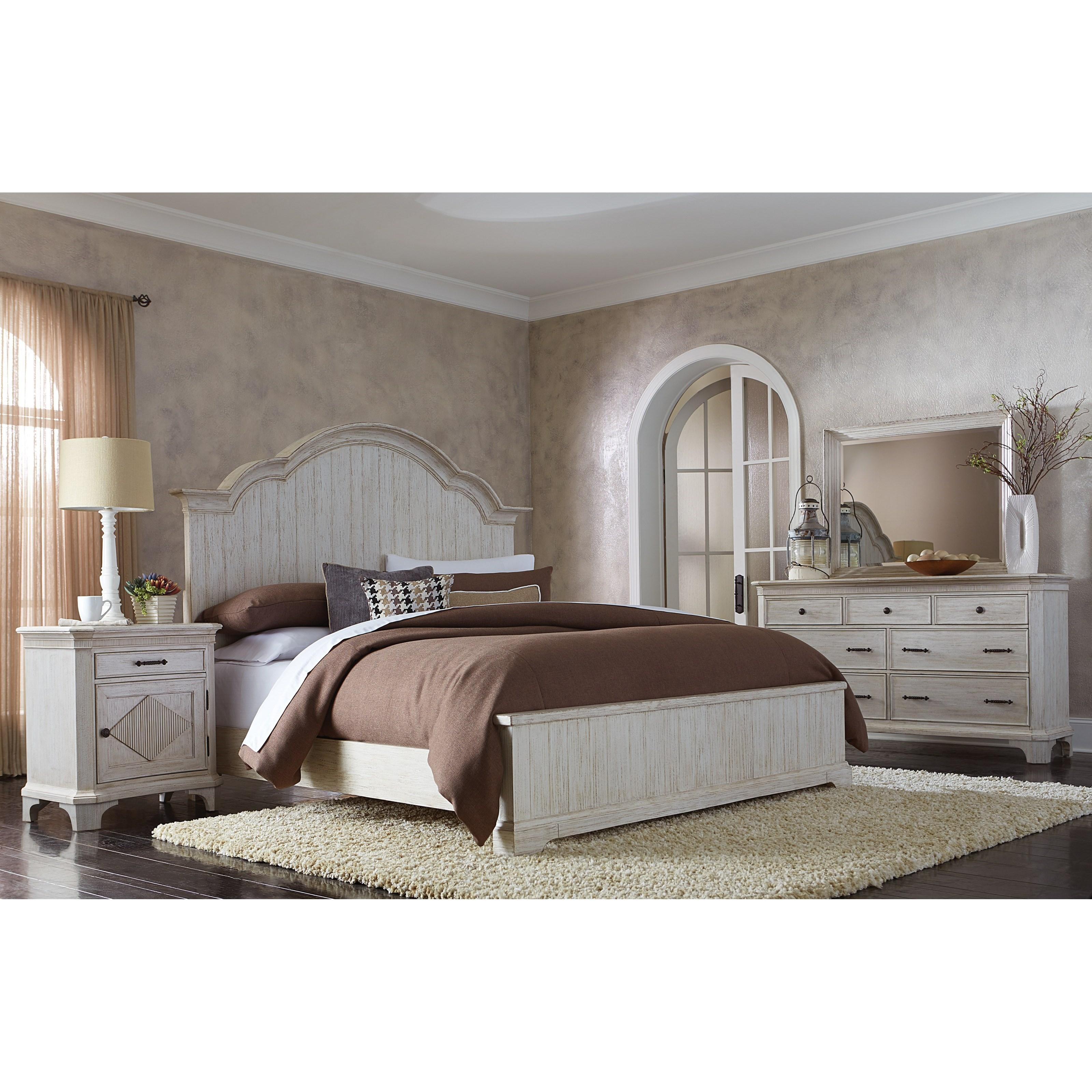 Riverside Furniture Aberdeen Queen Bedroom Group 1 - Item Number: 212 Q Bedroom Group 1