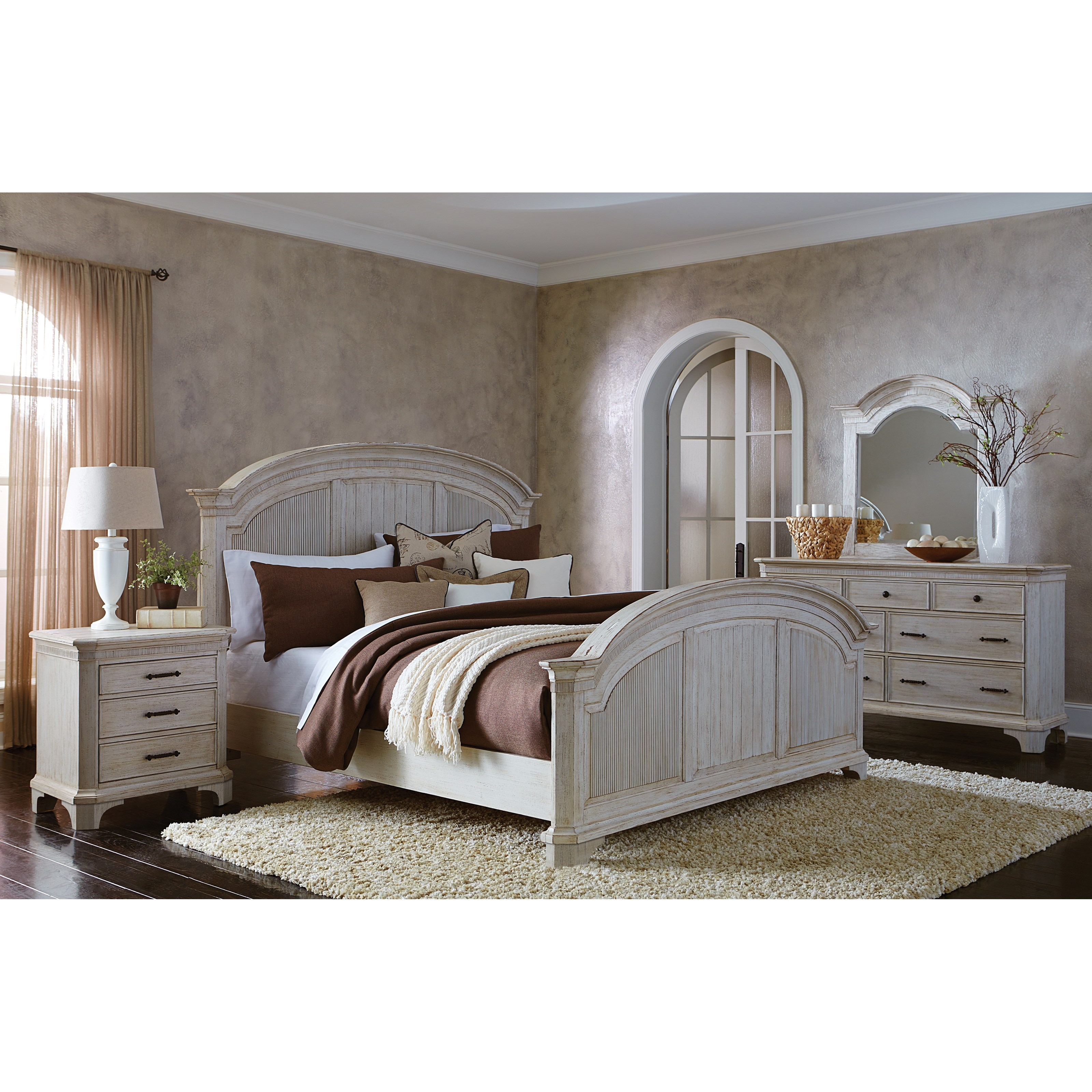 Riverside Furniture Aberdeen Queen Bedroom Group 2 - Item Number: 212 Q Bedroom Group 2