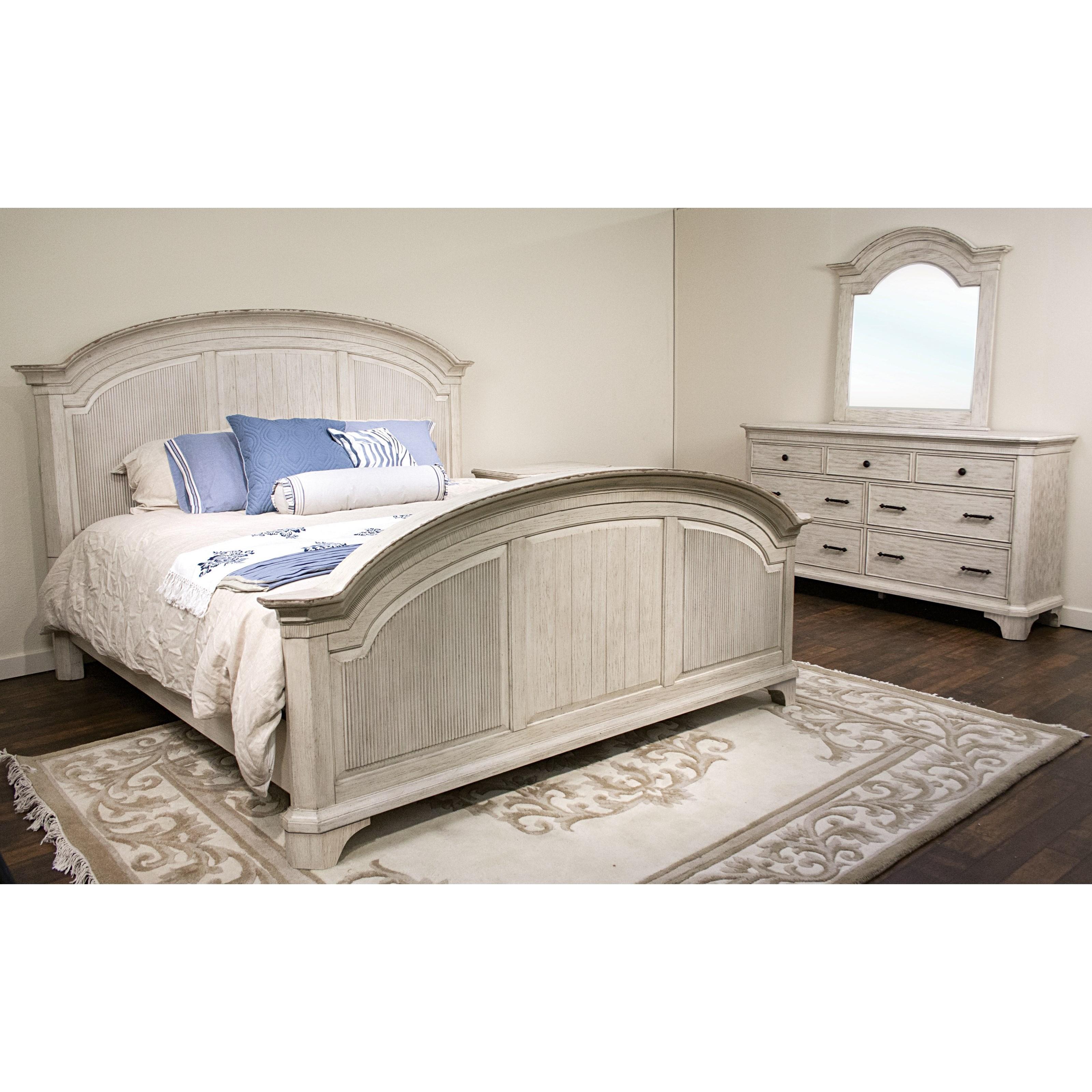 Riverside Furniture Aberdeen King Bedroom Group 3 - Item Number: 212 K Bedroom Group 3