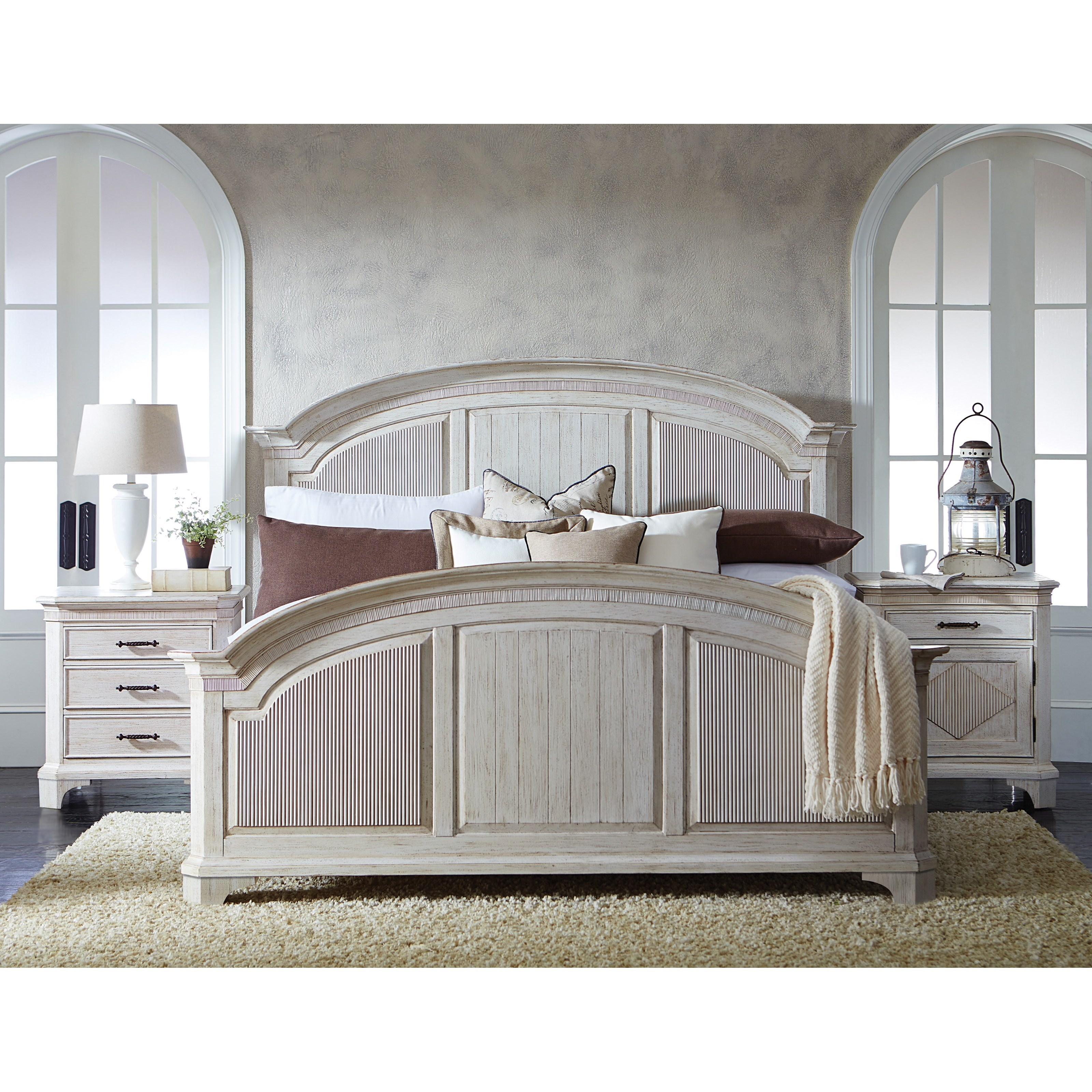 Riverside Furniture Aberdeen Queen Bedroom Group 4 - Item Number: 212 Q Bedroom Group 4