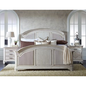 Riverside Furniture Aberdeen King Bedroom Group 4