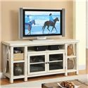 Riverside Furniture Aberdeen TV Console with Open Shelving