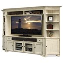 Riverside Furniture Aberdeen Wall Entertainment Unit - Item Number: 21242+8+9+4