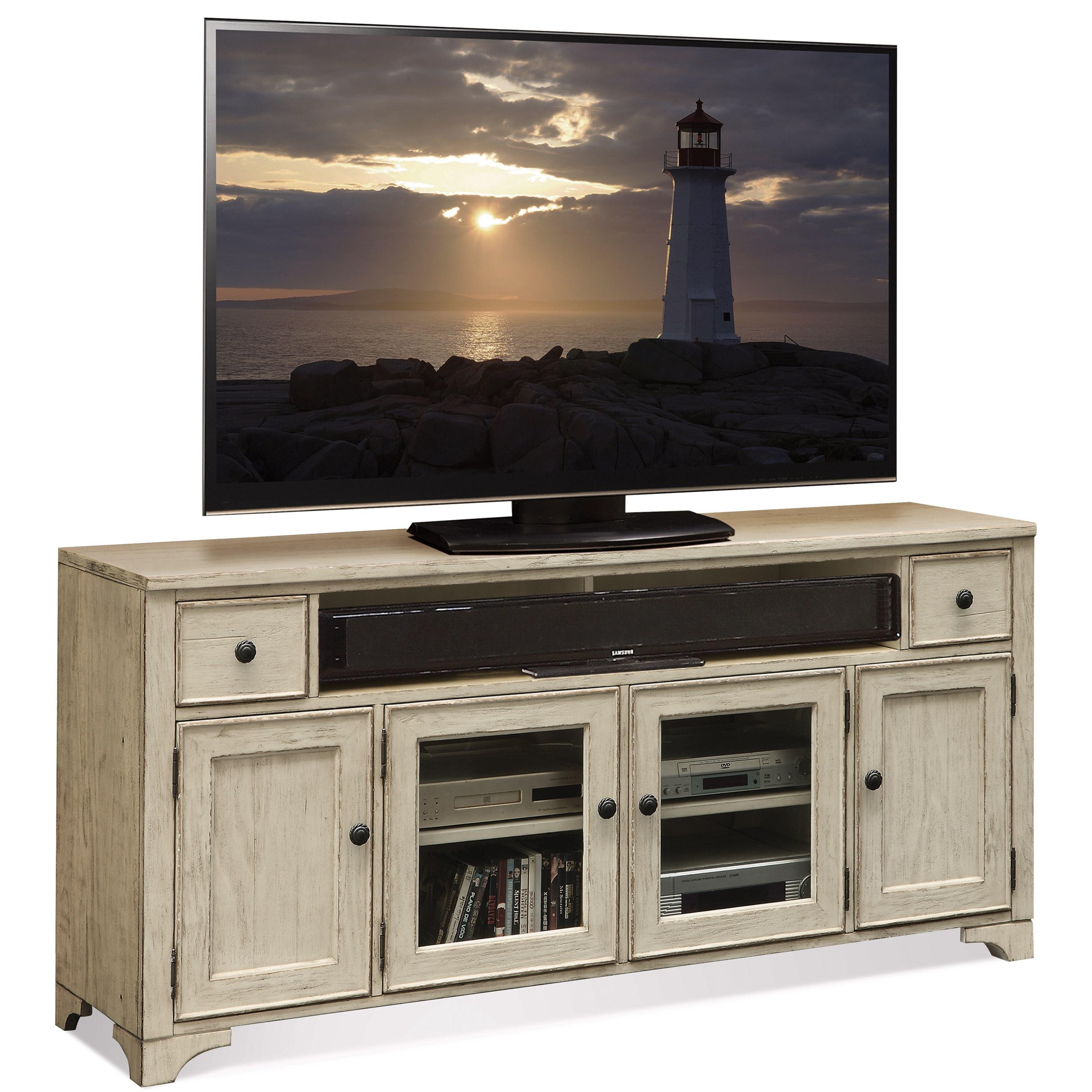 Riverside Furniture Aberdeen 70-In TV Console - Item Number: 21242