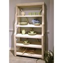 Riverside Furniture Aberdeen 5 Shelf Open Display Cabinet