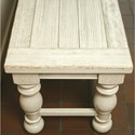 Riverside Furniture Aberdeen Dining Bench with Turned Legs