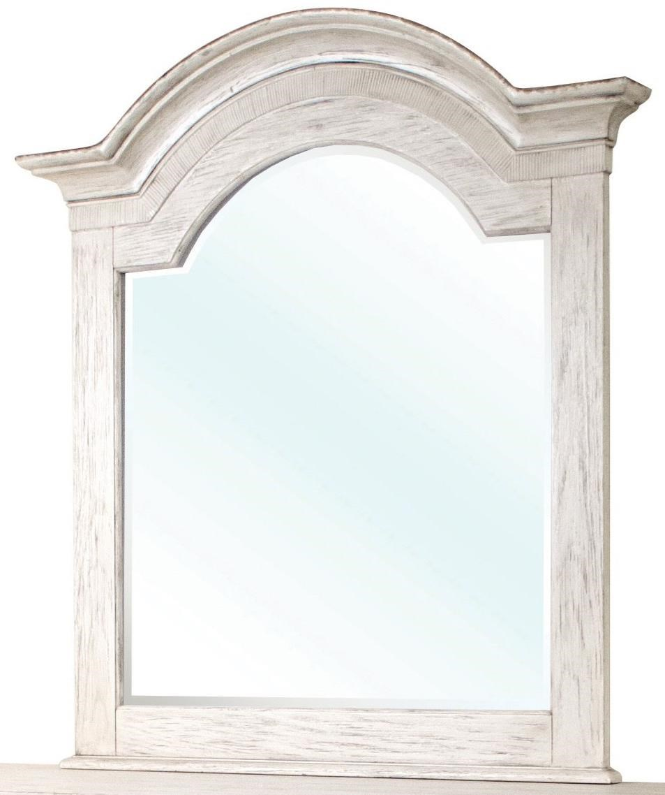 Riverside Furniture Aberdeen Arch Mirror - Item Number: 21261