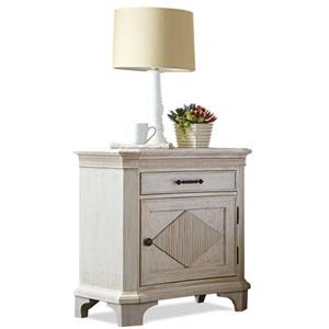 Riverside Furniture Aberdeen Door Nightstand