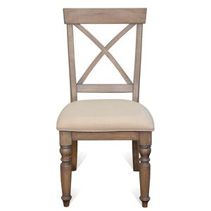 Riverside Furniture Aberdeen X-Back Side Chair