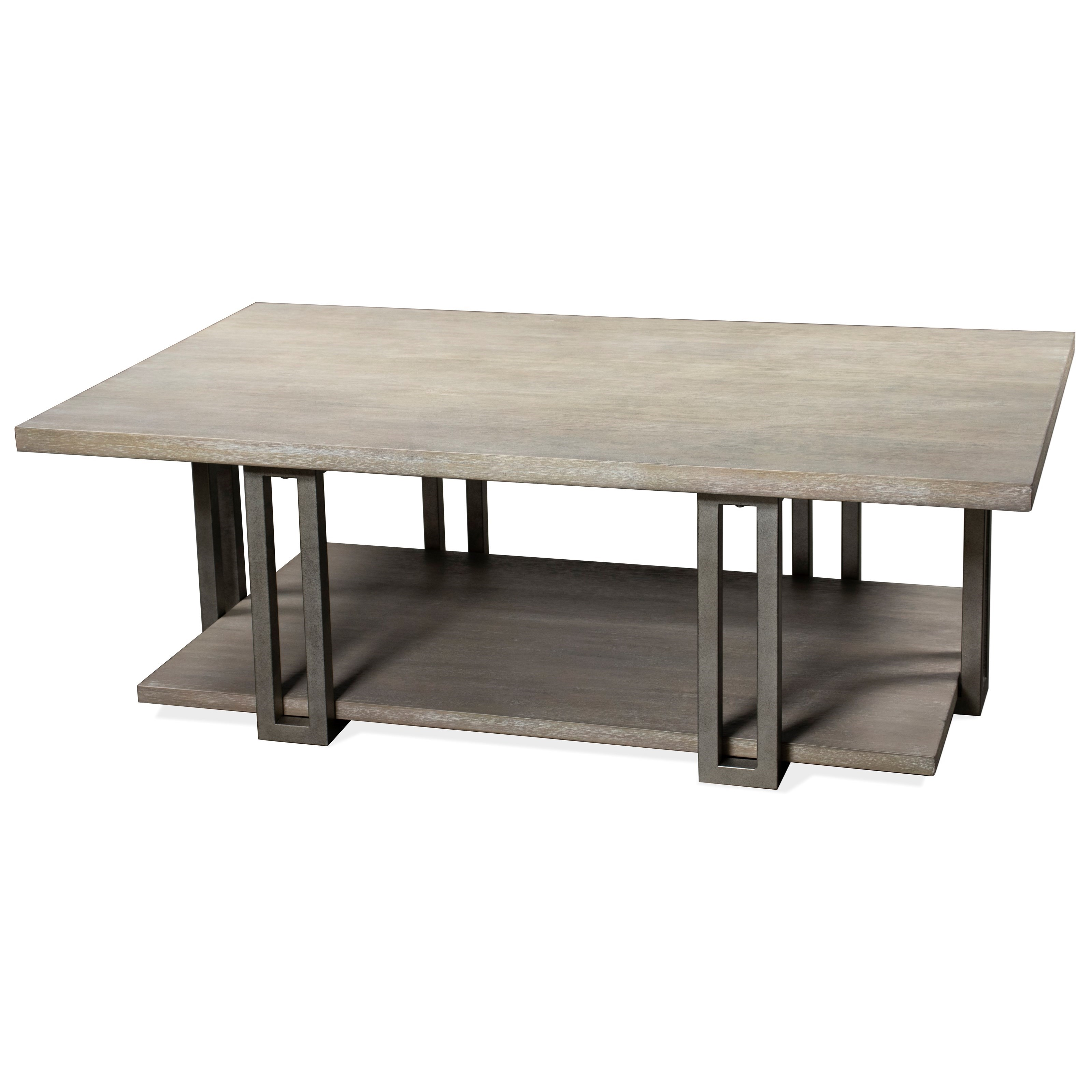 Adelyn Rectangle Cocktail Table by Riverside Furniture at A1 Furniture & Mattress