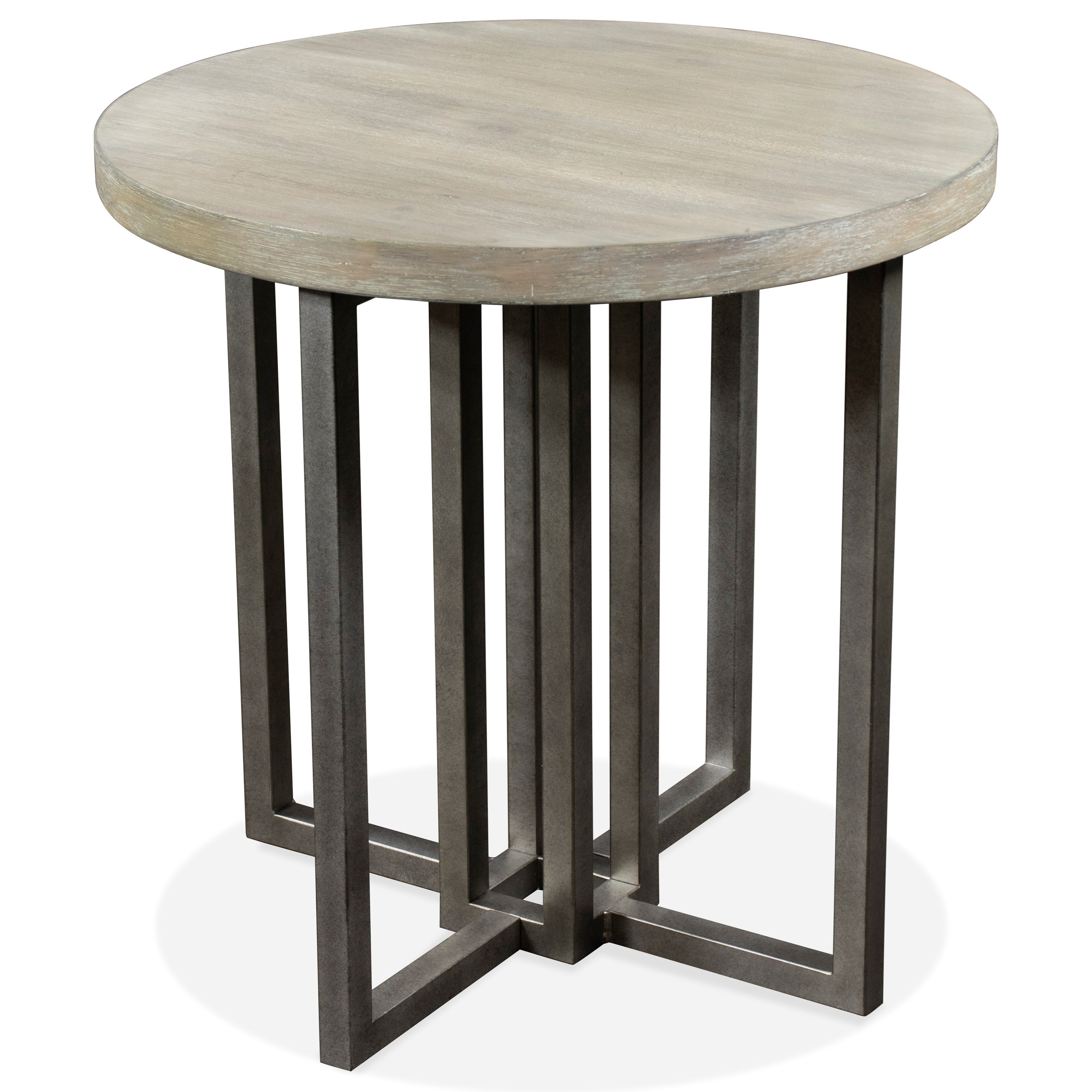 Adelyn Round End Table by Riverside Furniture at A1 Furniture & Mattress