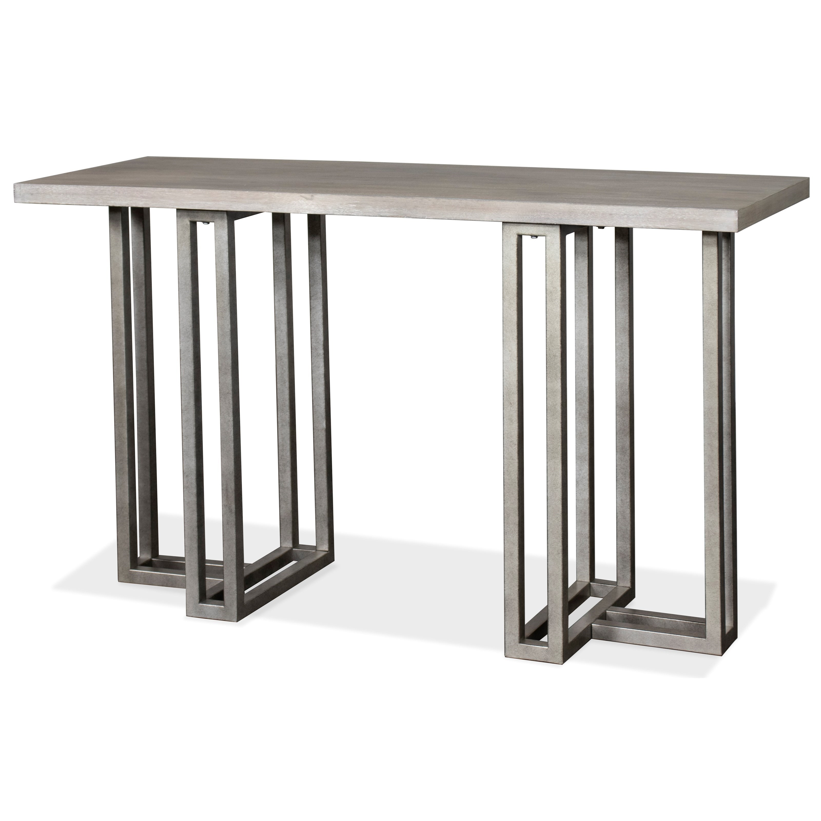 Adelyn Rectangle Sofa Table by Riverside Furniture at A1 Furniture & Mattress