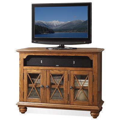 Riverside Furniture Allegheny  Corner TV Console - Item Number: 65241