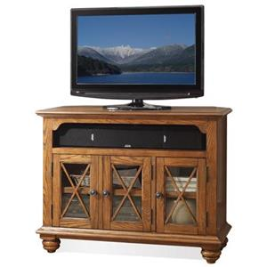 Riverside Furniture Allegheny  Corner TV Console
