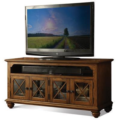 "Riverside Furniture Allegheny  60"" TV Console - Item Number: 65245"