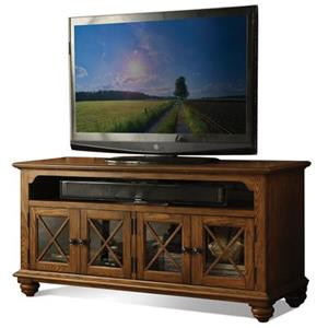 "Riverside Furniture Allegheny  60"" TV Console"