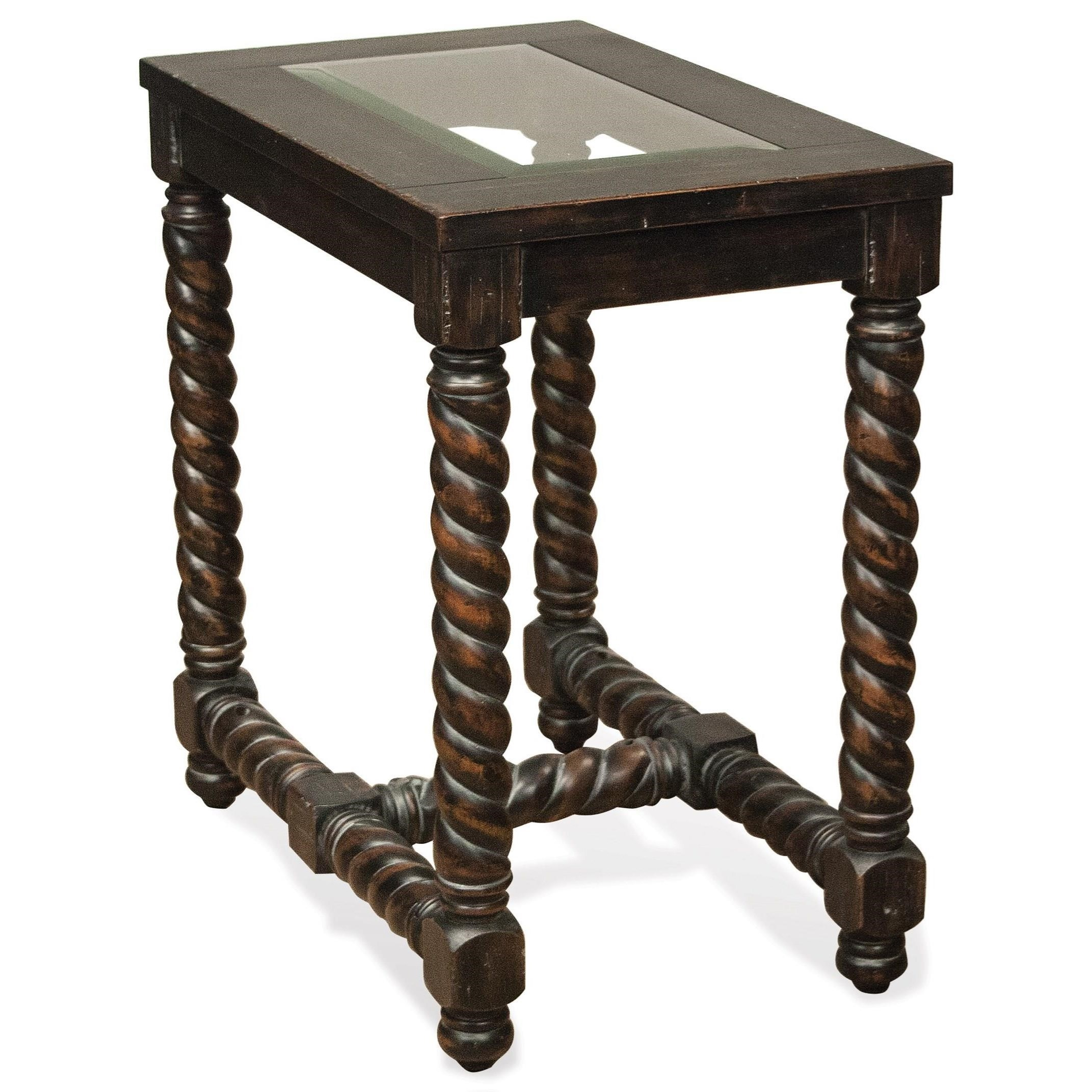 Riverside Furniture Alvaro Chairside Table - Item Number: 80112