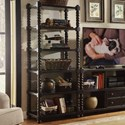 Riverside Furniture Alvaro Open 5 Shelf Bookcase