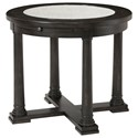 Riverside Furniture Avery Round End Table - Item Number: 55709