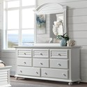 Riverside Furniture Avon 8-Drawer Dresser and Mirror Combo - Item Number: 28862+1