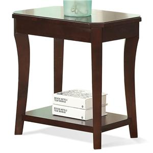 Riverside Furniture Bancroft Chairside Table