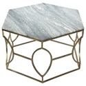 Riverside Furniture Barron Hexagon Coffee Table - Item Number: 26802