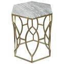 Riverside Furniture Barron Hexagon Side Table - Item Number: 26808