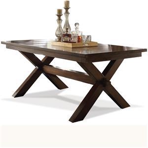 Riverside Furniture Bedford Trestle Dining Table