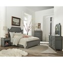 Riverside Furniture Bella Grigio California King Bedroom Group - Item Number: 5280 CK Bedroom Group 3