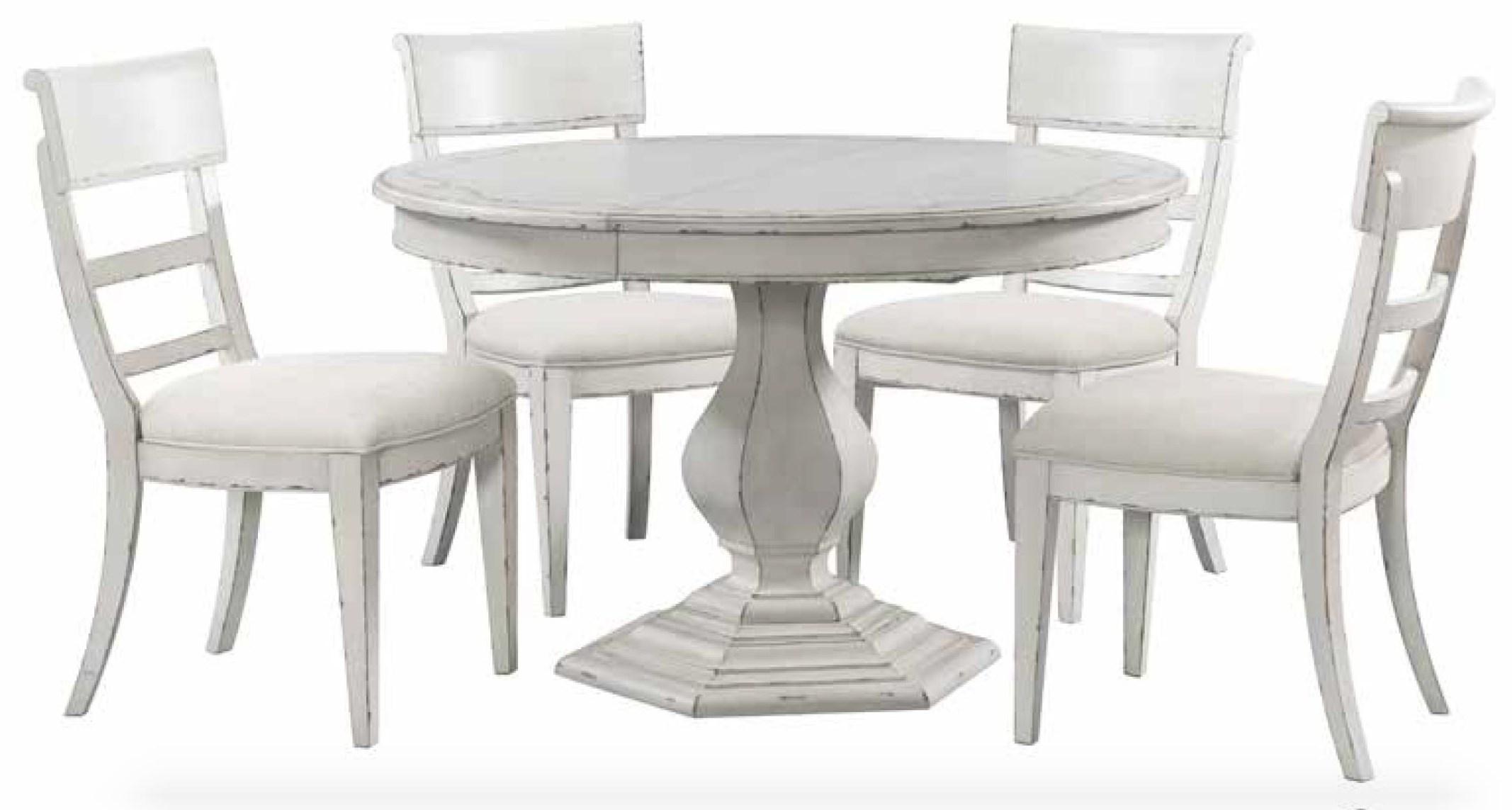 5 PC Round Dining Set