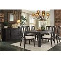 Riverside Furniture Bellagio Rustic Chic Server