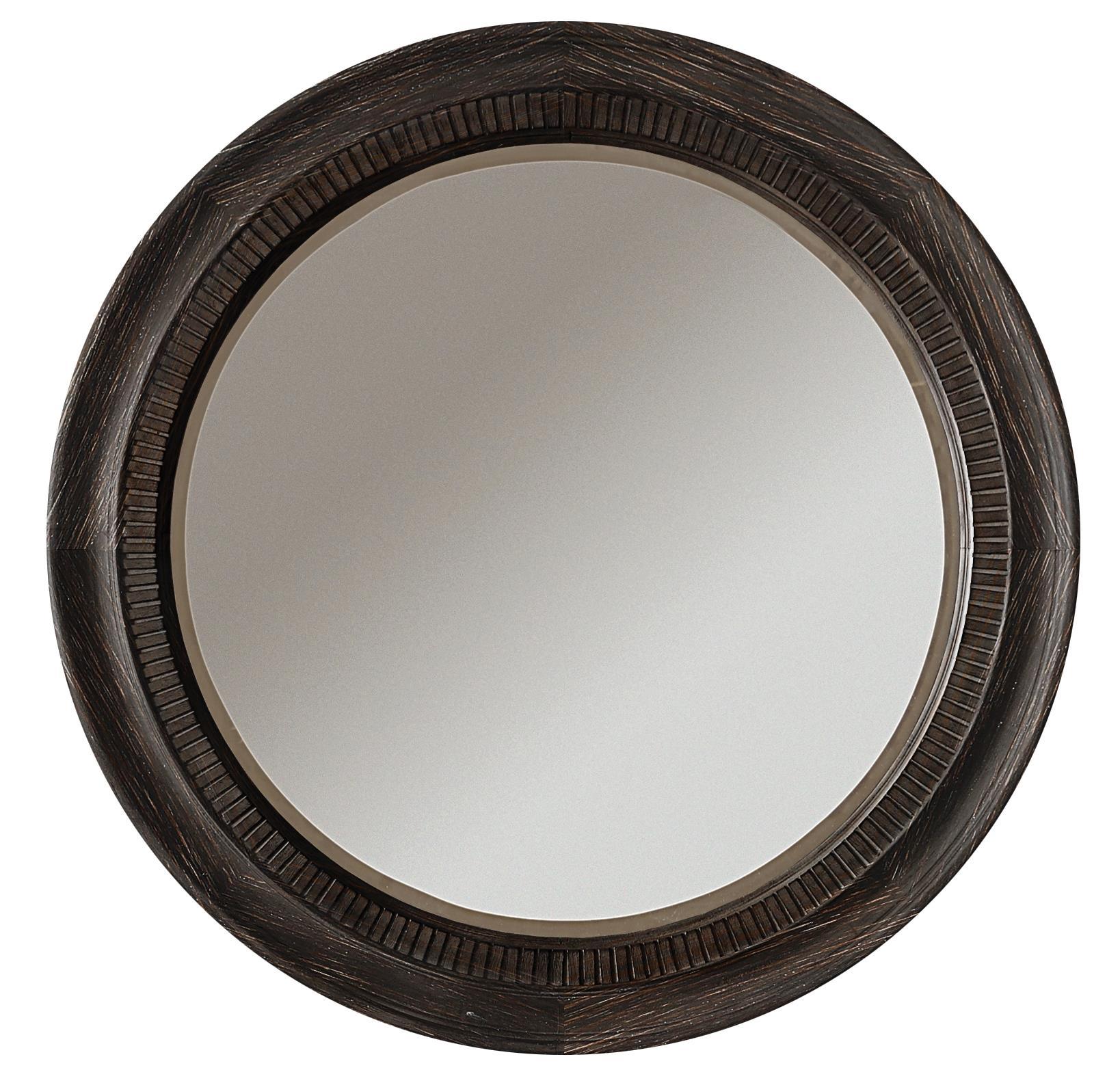 Riverside Furniture Bellagio Round Accent Mirror - Item Number: 11862