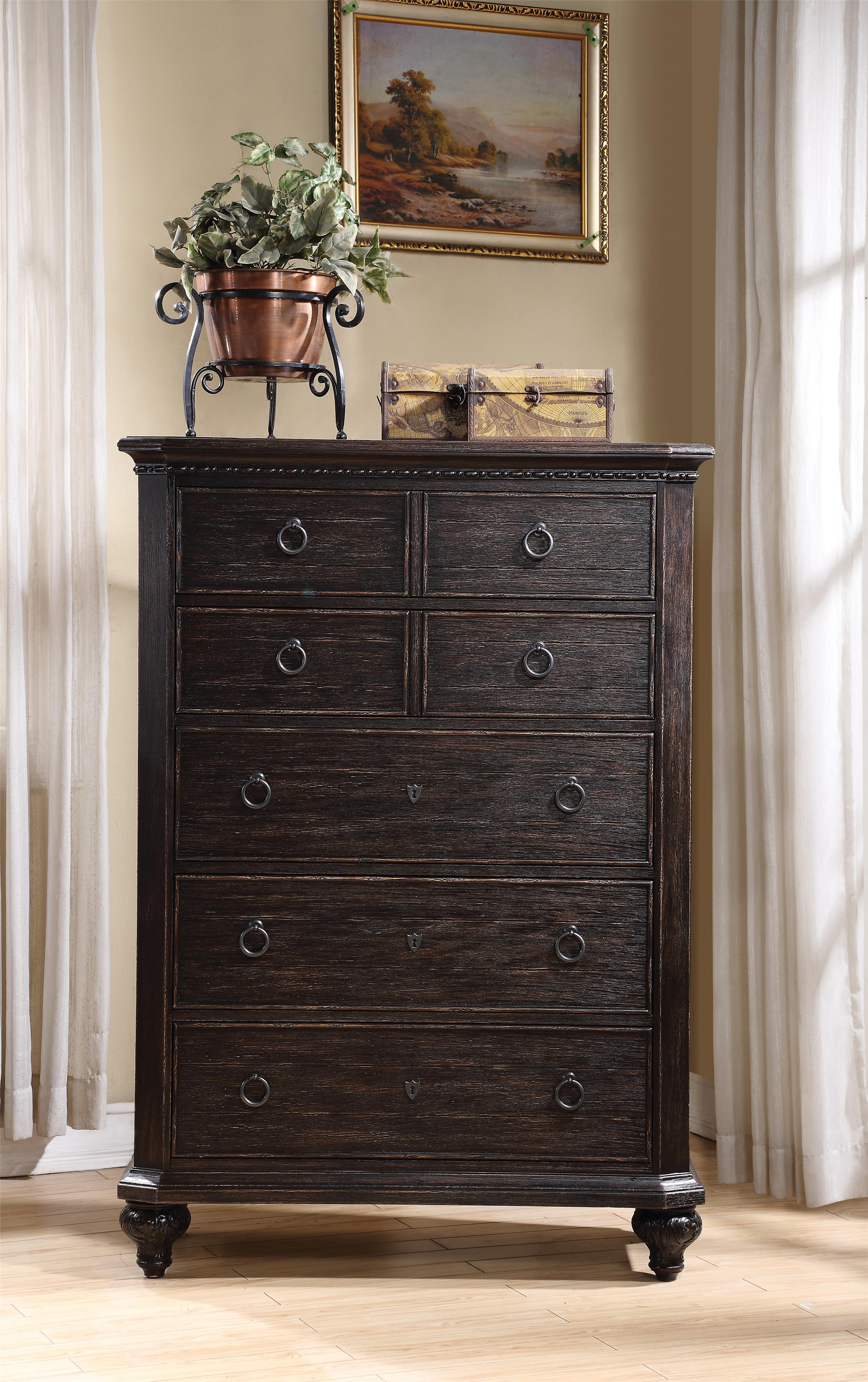 Riverside Furniture Bellagio 5-Drawer Chest - Item Number: 11865