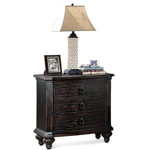 Riverside Furniture Bellagio Two Drawer Nightstand