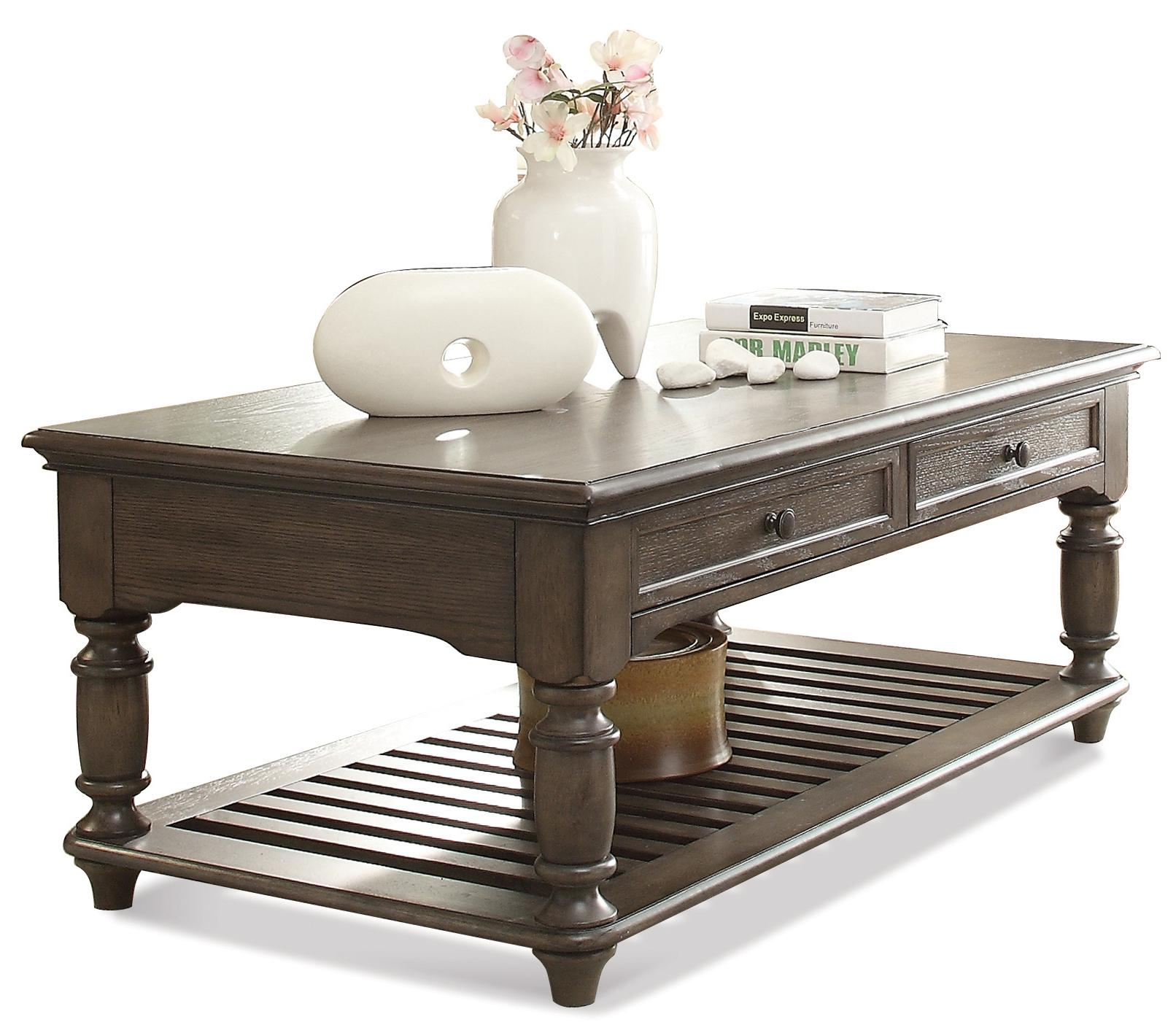 Riverside Furniture Belmeade Rectangular Coffee Table - Item Number: 15802