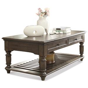 Riverside Furniture Belmeade Rectangular Coffee Table