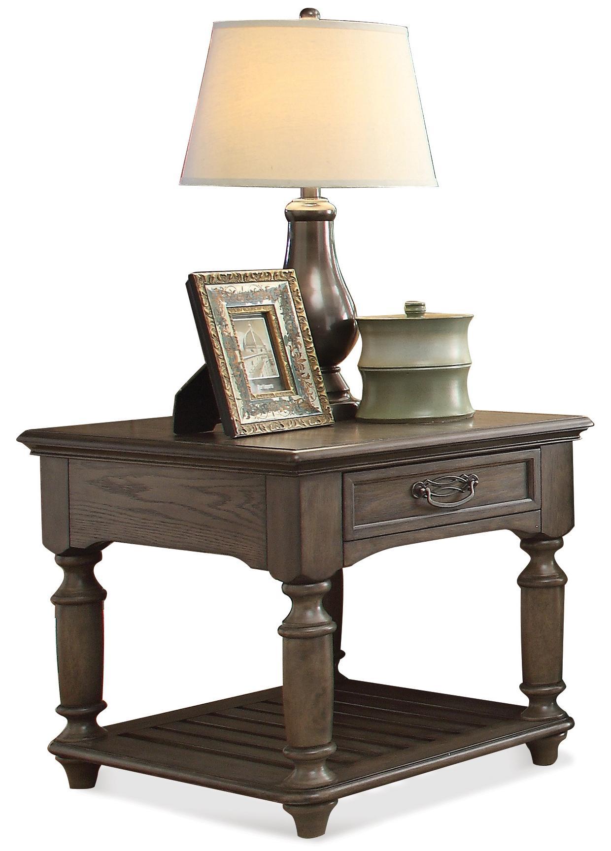 Riverside Furniture Belmeade Rectangular End Table - Item Number: 15809