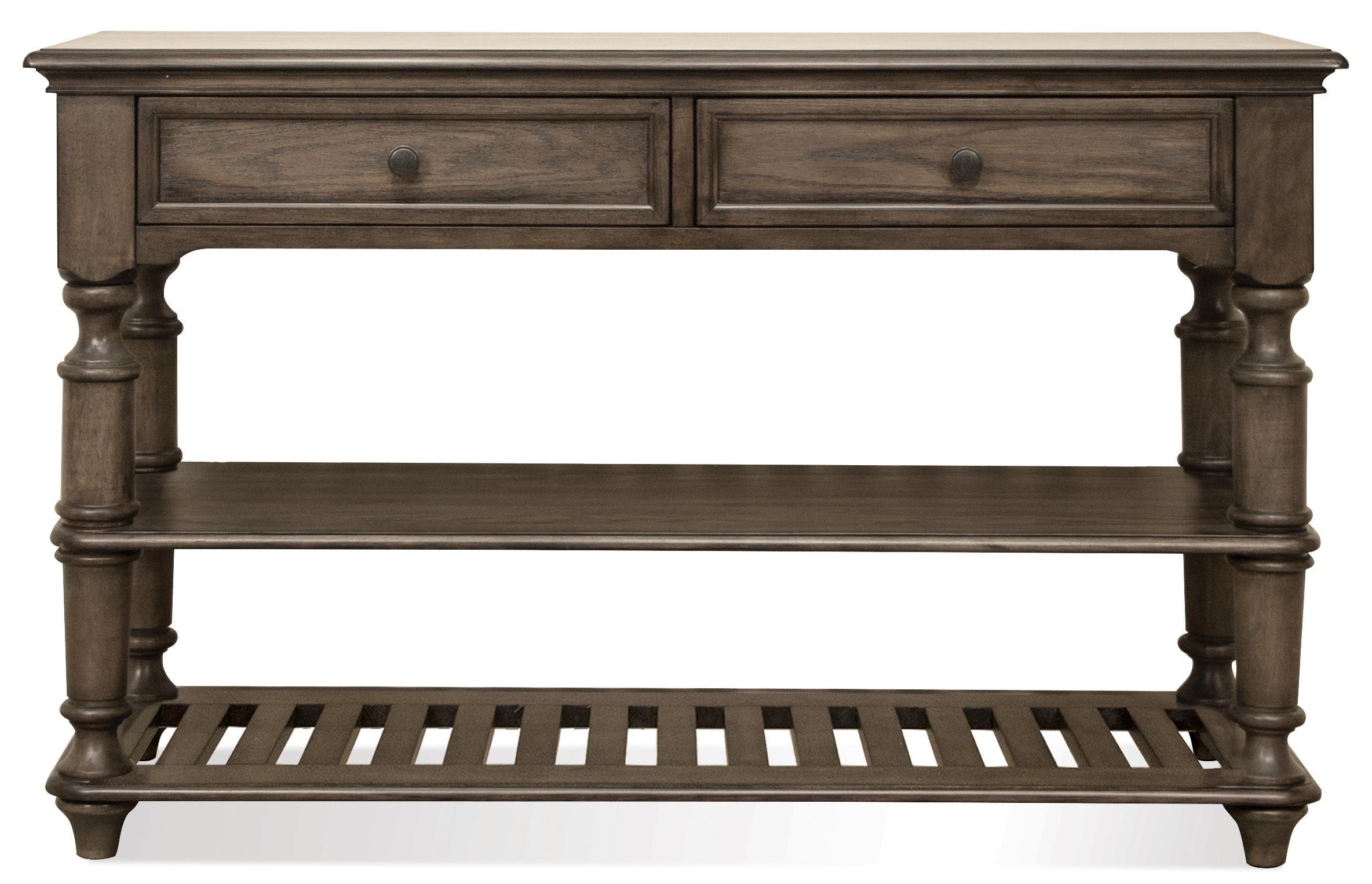 Riverside Furniture Belmeade Console Table - Item Number: 15815