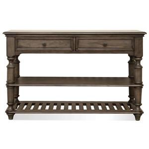 Riverside Furniture Belmeade Console Table