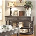 Riverside Furniture Belmeade Traditional Console Table