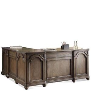 Riverside Furniture Belmeade L-Desk & Return