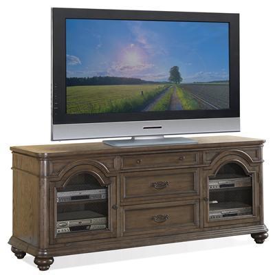"Riverside Furniture Belmeade 72"" Entertainment Console  - Item Number: 15840"