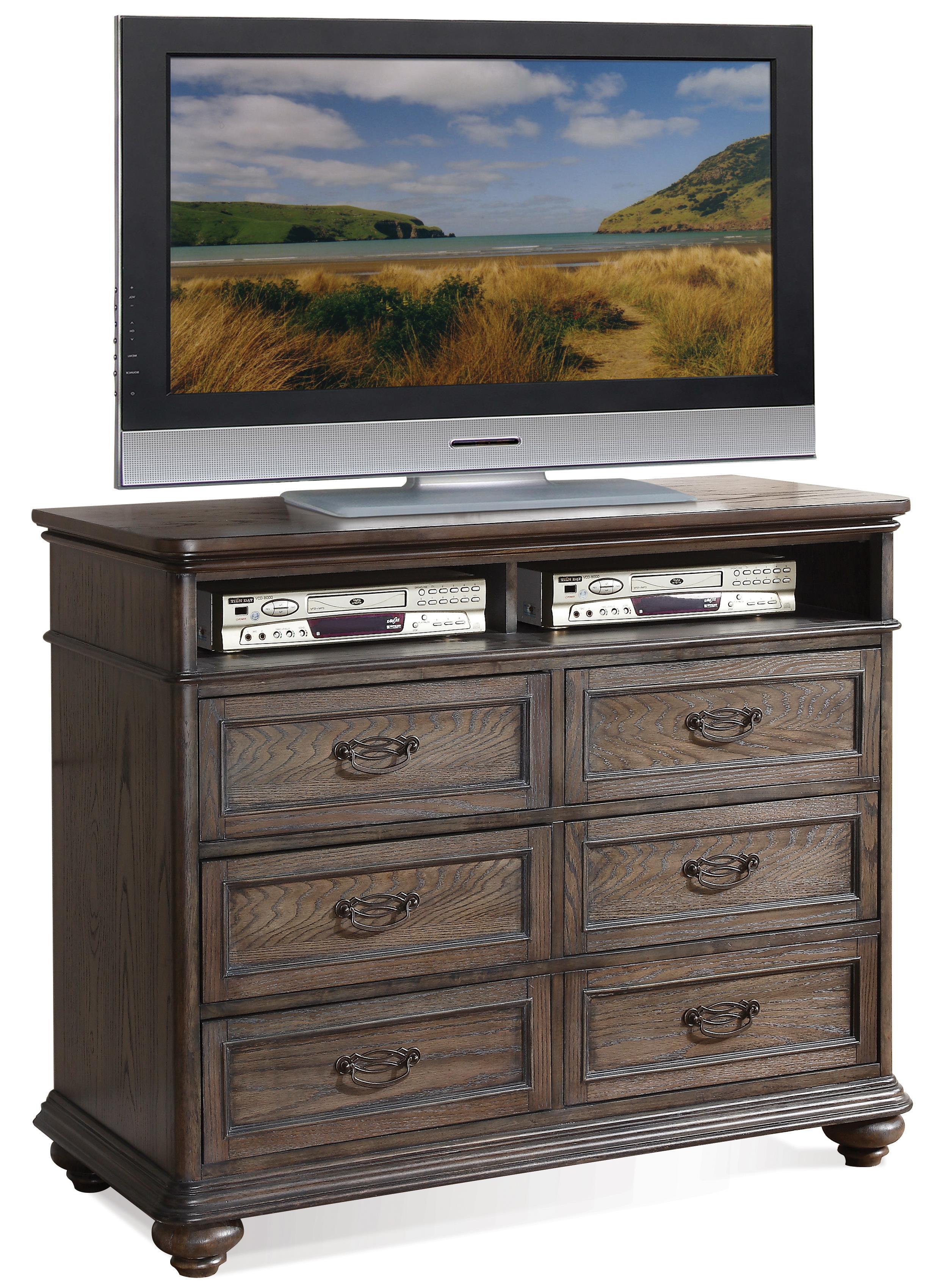 Riverside Furniture Belmeade Entertainment Chest - Item Number: 15864