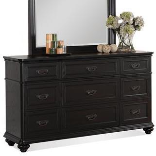 Riverside Furniture Belmeade 9-Drawer Dresser - Item Number: 15962