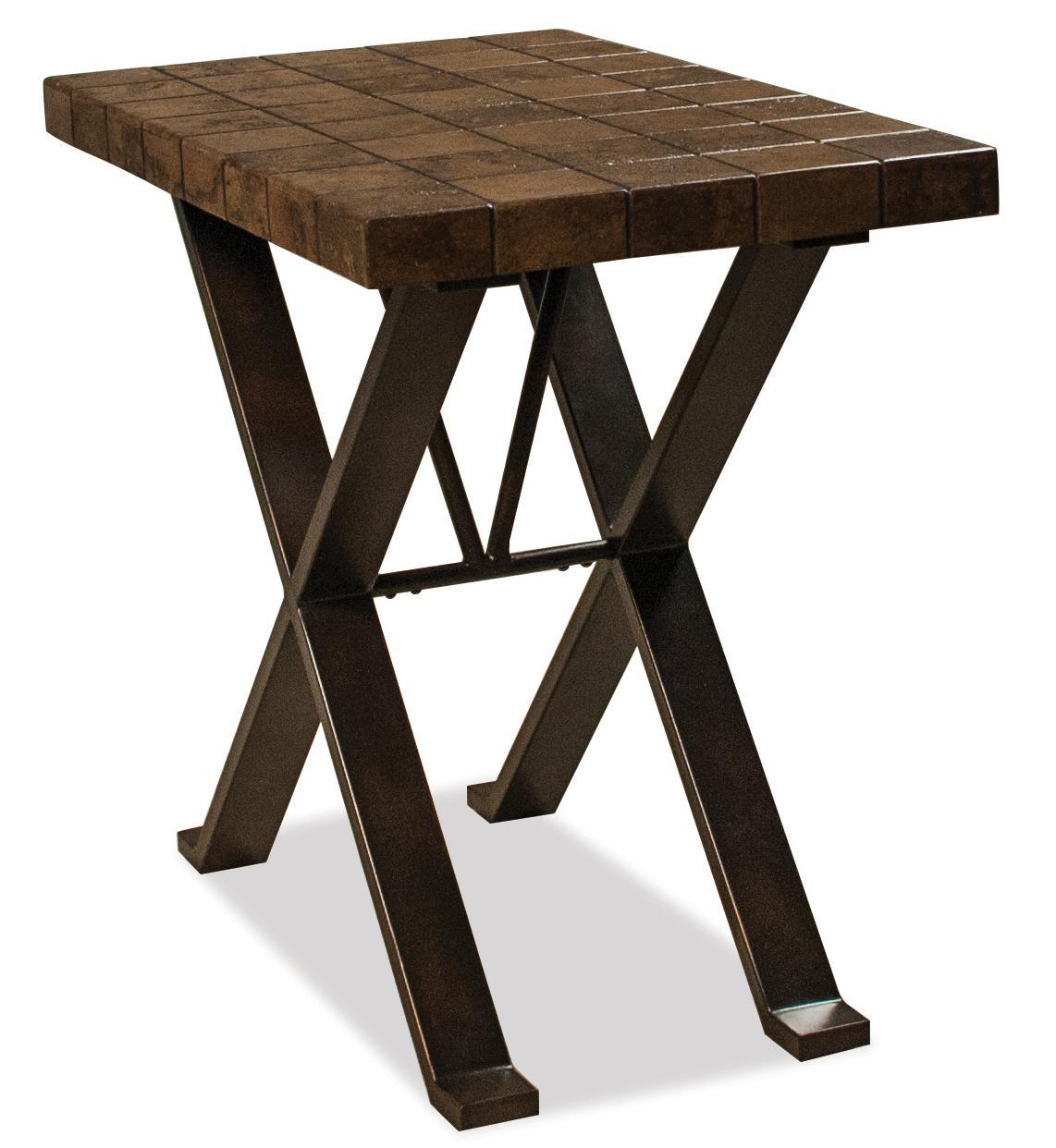 Riverside Furniture Bolero Chairside Table                - Item Number: 91812