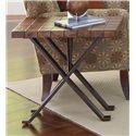 Riverside Furniture Bolero Contemporary Chairside Table